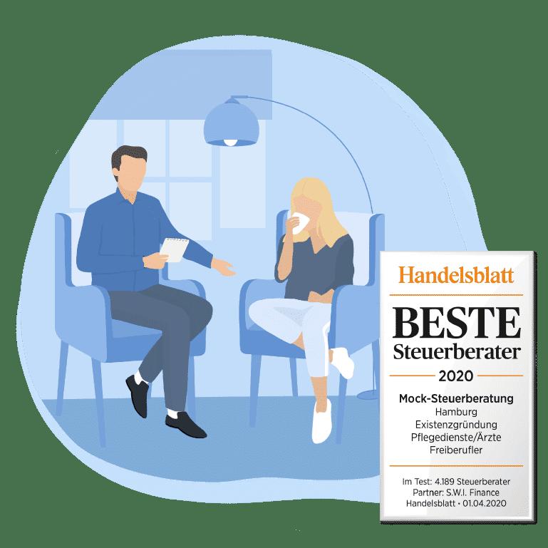 Ausgezeichneter Steuerberater für Psychotherapeut
